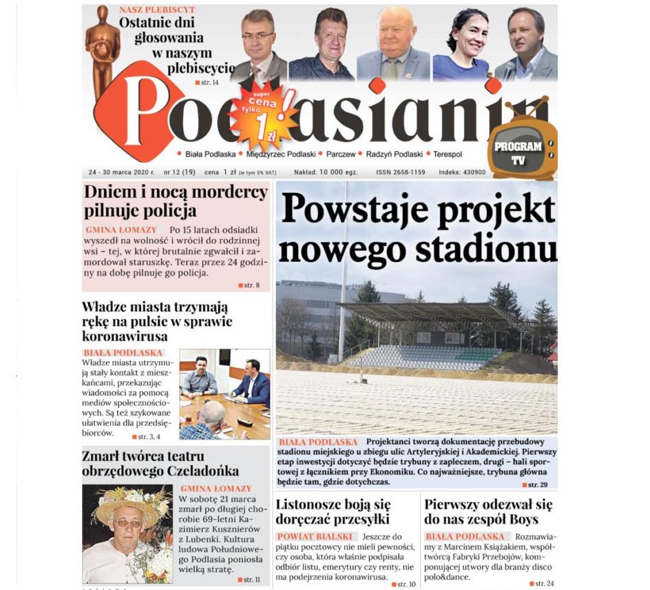 Przeczytaj nowy numer Podlasianina w wersji elektronicznej