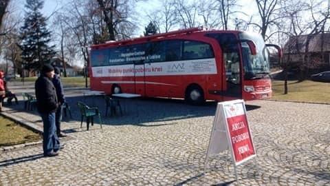 Udana zbiórka krwi w Wisznicach