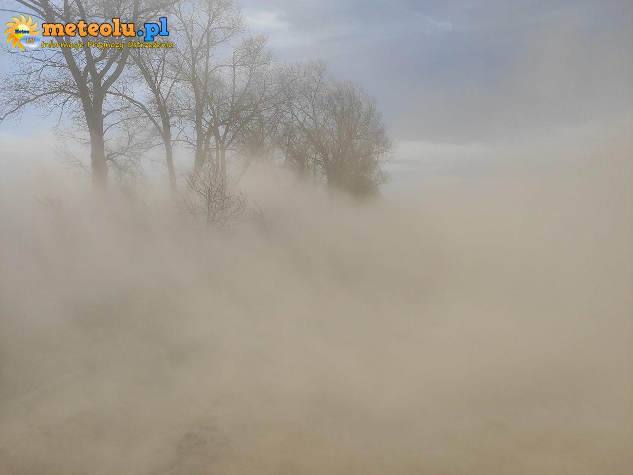 W Kijowcu zamieć jak na pustyni