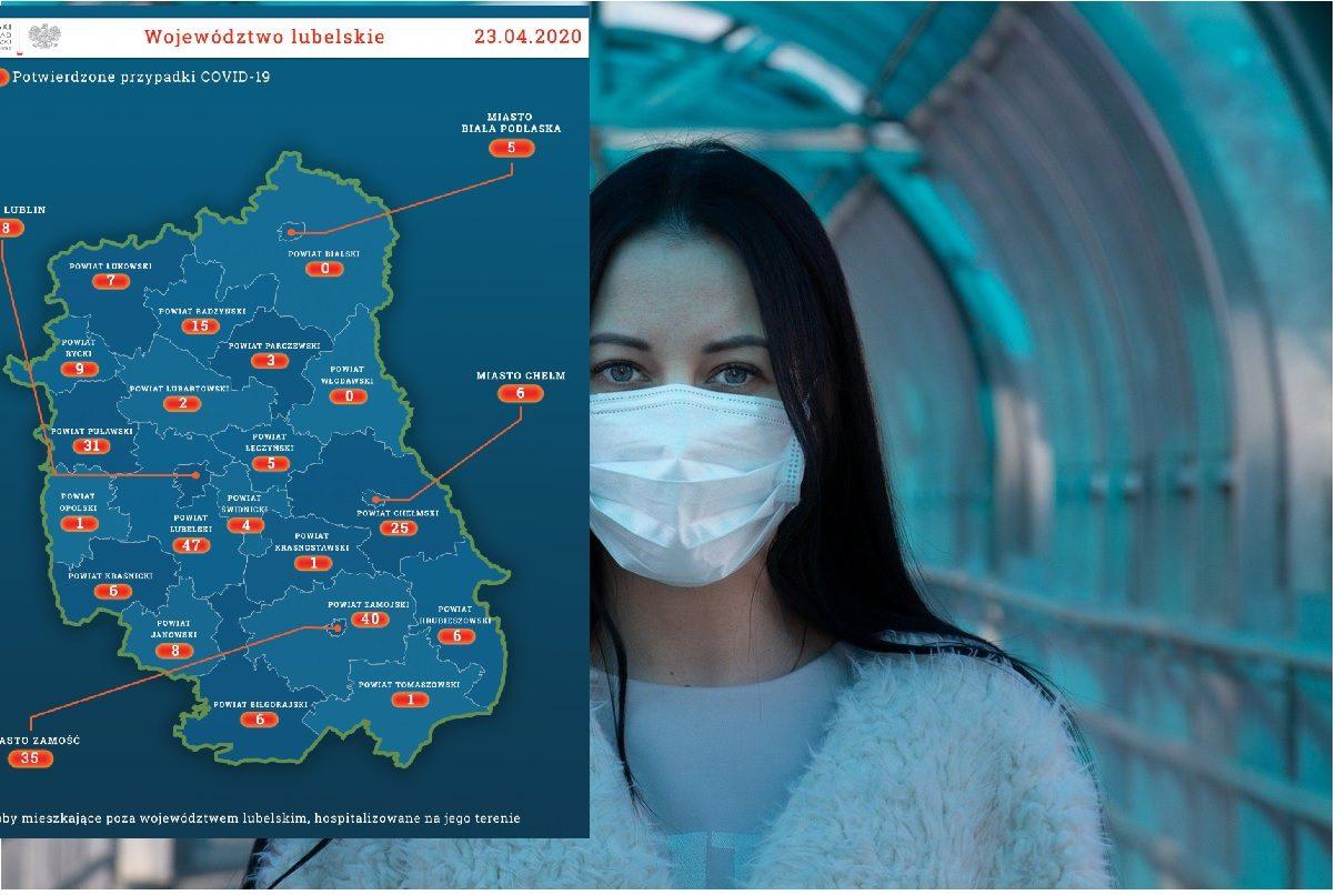 Koronawirus: Nowe dane z województwa lubelskiego