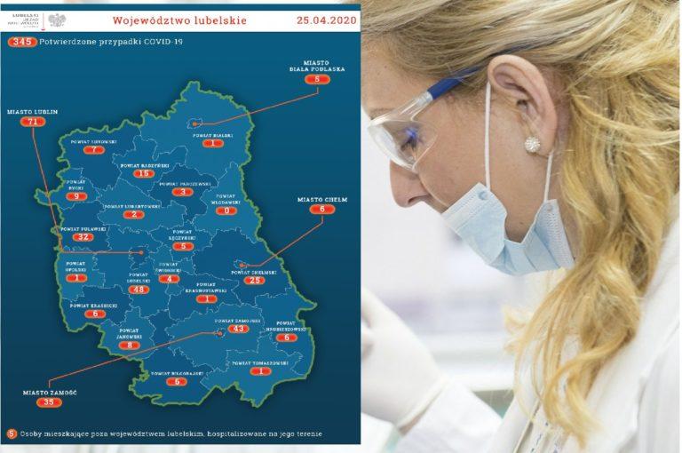 Koronawirus: Najnowsze statystyki z województwa