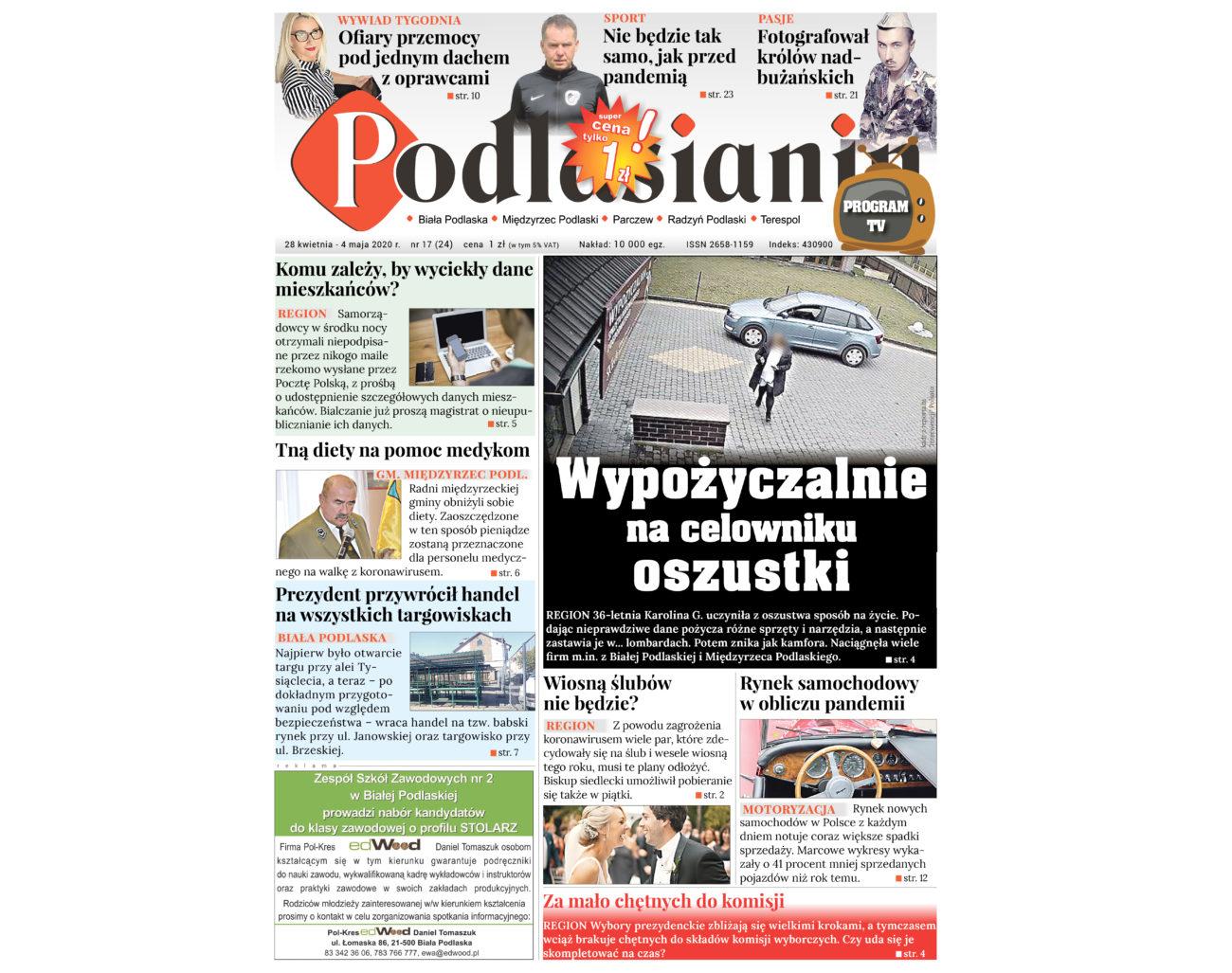 Czytaj Podlasianina w wersji elektronicznej!