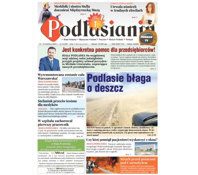 Czytaj elektroniczne wydanie Podlasianina