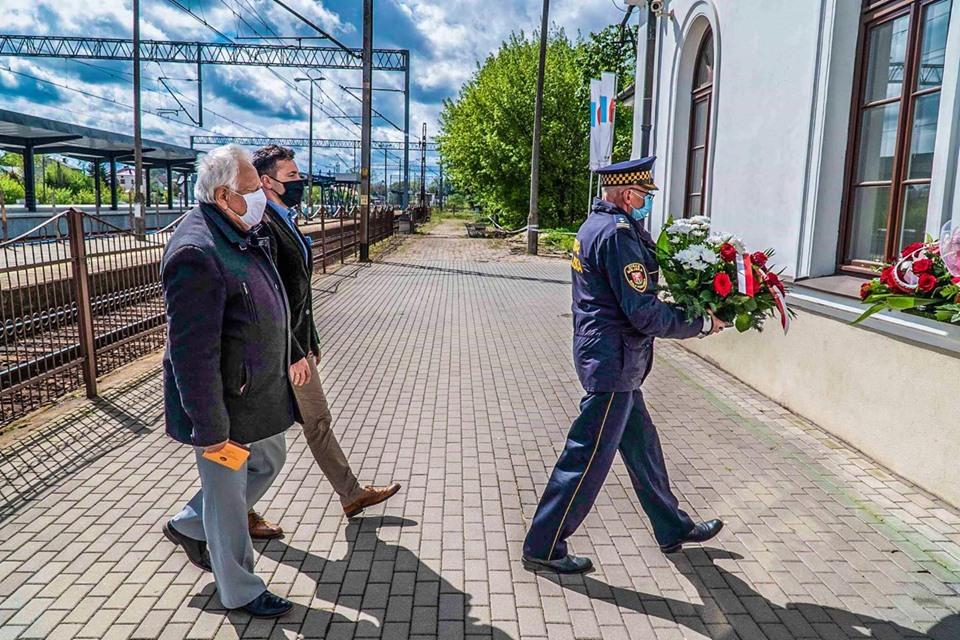 Uczcili pamięć o Piłsudskim