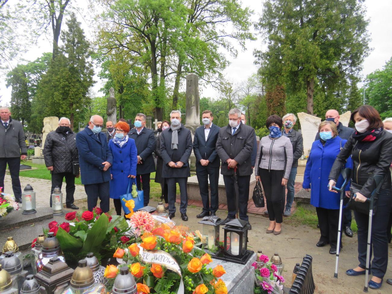 Uczcili rocznicę śmierci Jana Guza