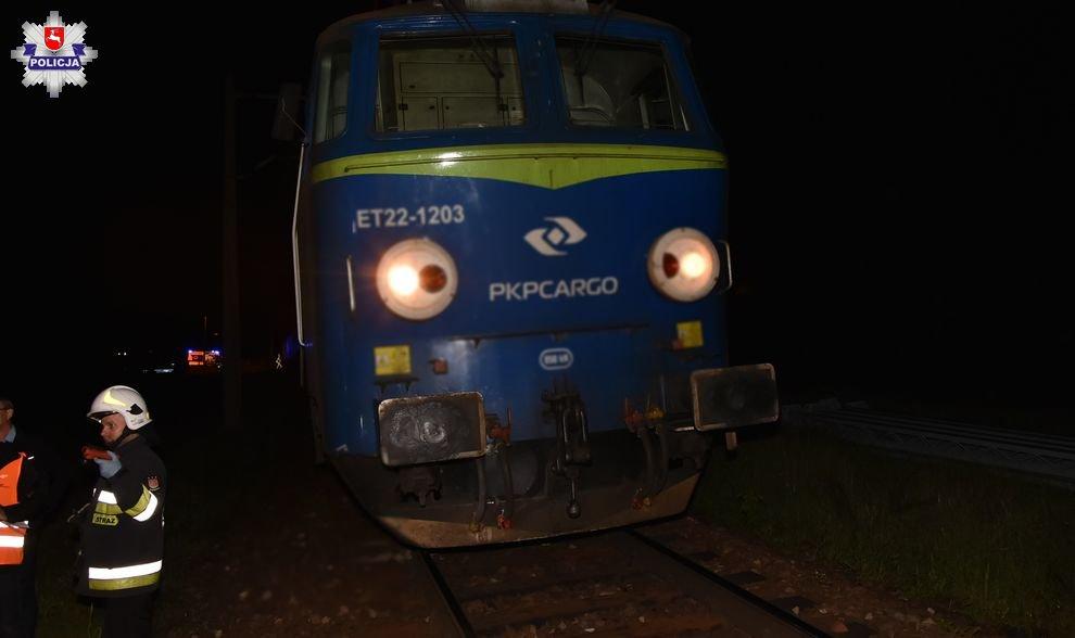 Śmierć na torach. Pieszy wtargnął pod pociąg