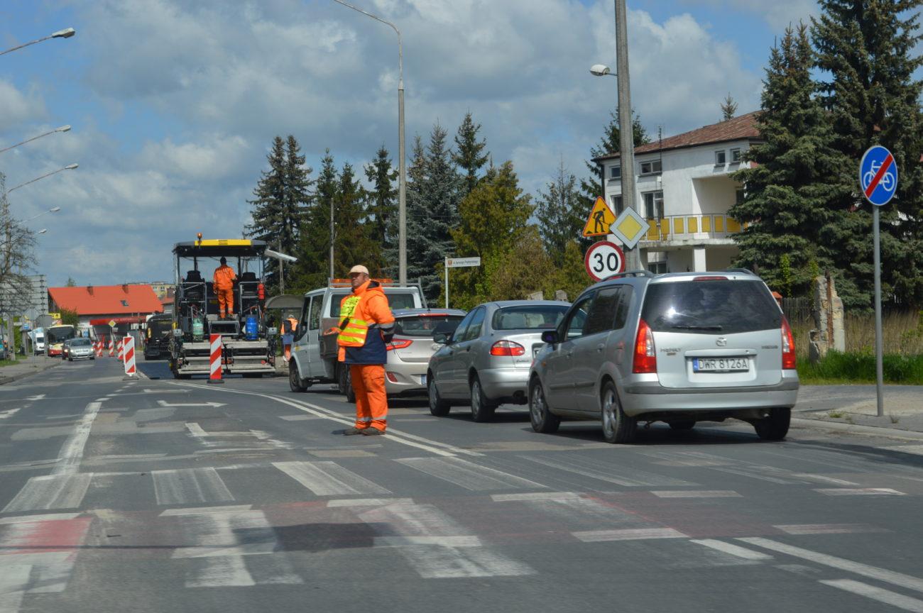 W Białej ruszyły remonty ulic