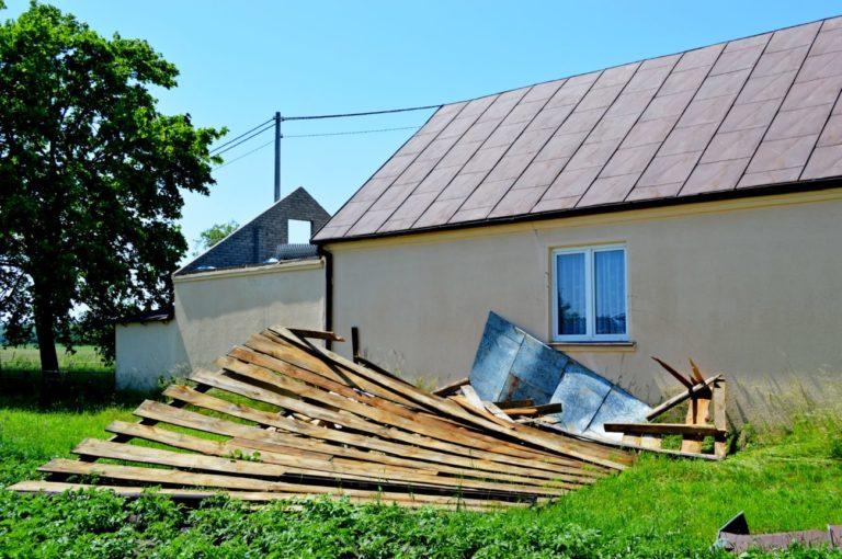 Krajobraz po burzy: Międzyrzec Podlaski i okolice (FOTO)