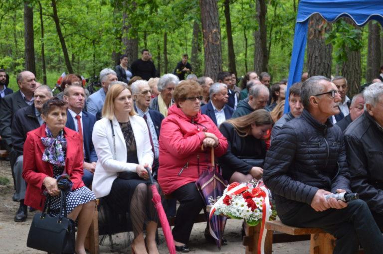 Uroczystości patriotyczne na Uroczysku Baran w Kąkolewnicy
