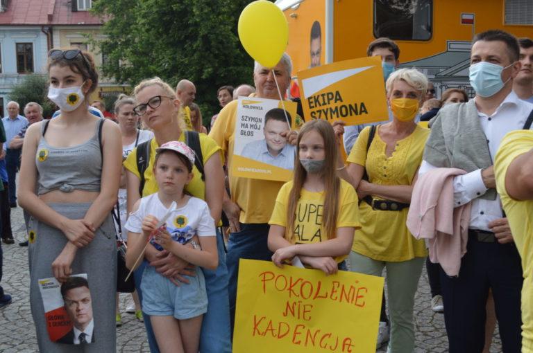 Hołownia w Białej: PiS to cofanie nas do głębokiego PRL-u