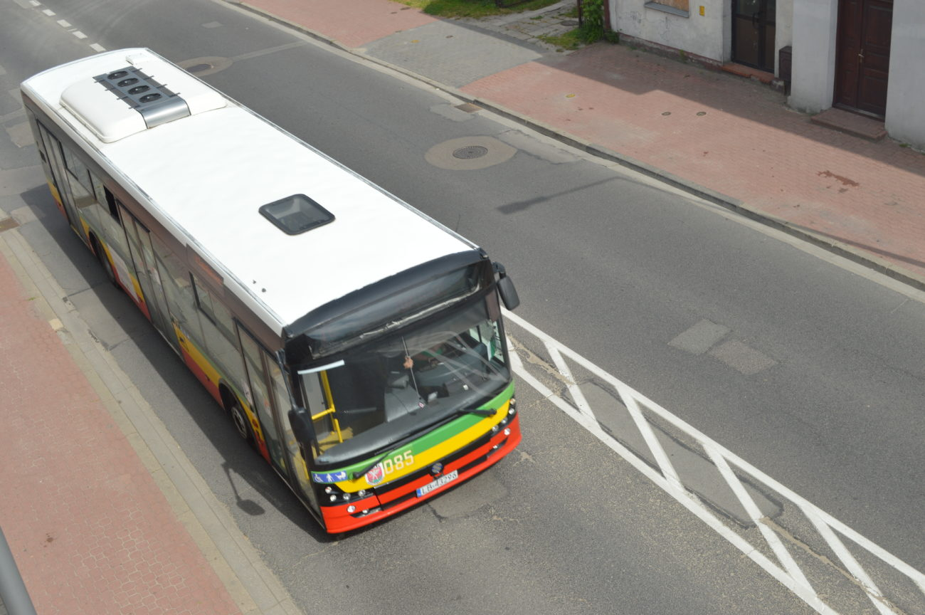 Maseczkowe spory w autobusie