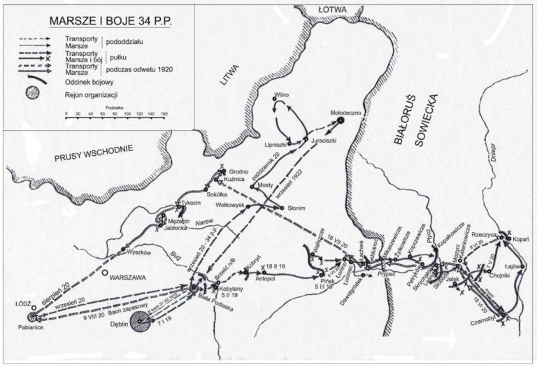 Dzieje 34 pułku piechoty w latach 1919-1939 (cz. 7)