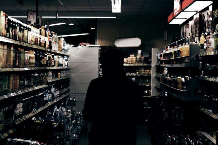 Kradł alkohol ze sklepów