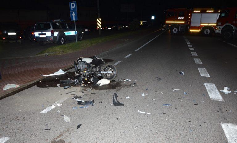 Śmierć na drodze. Zginął 33-letni motocyklista