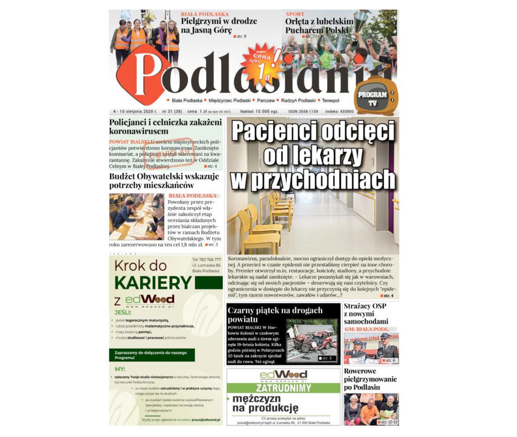 Co w najnowszym numerze Podlasianina?