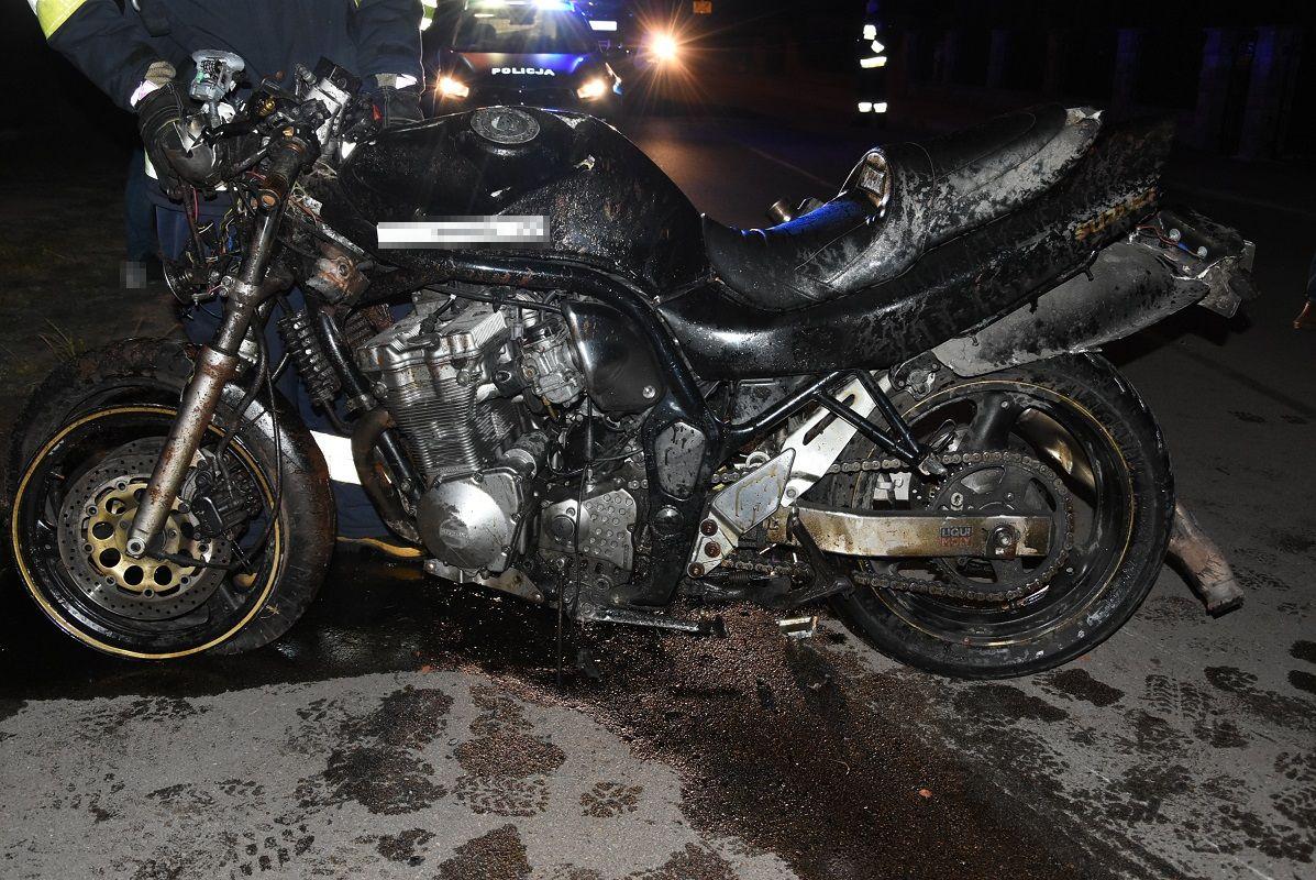 Tragiczny wypadek w Piszczacu. Nie żyje motocyklista