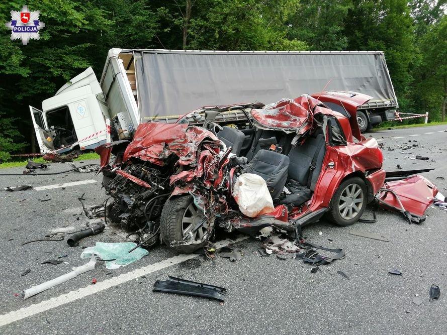 Tragiczny piątek na drogach powiatu