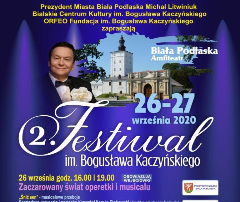 Wkrótce festiwal pamięci Kaczyńskiego