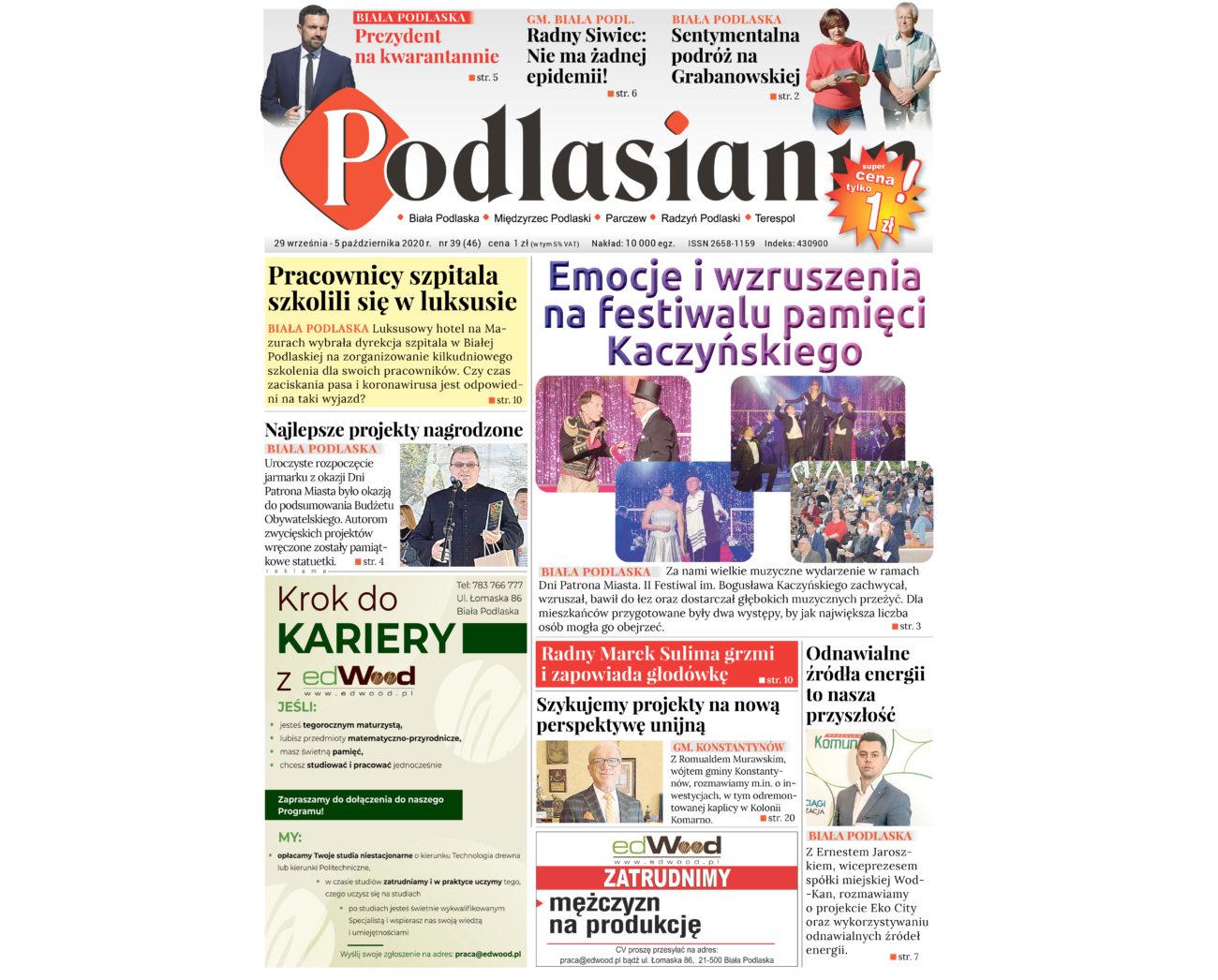 """Nowe wydanie """"Podlasianina"""""""
