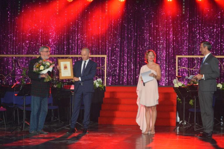 Tadeusz Żaczek nagrodzony za 40 lat pracy