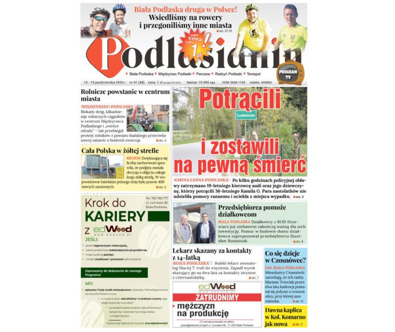 """""""Podlasianin"""" - nowy numer!"""