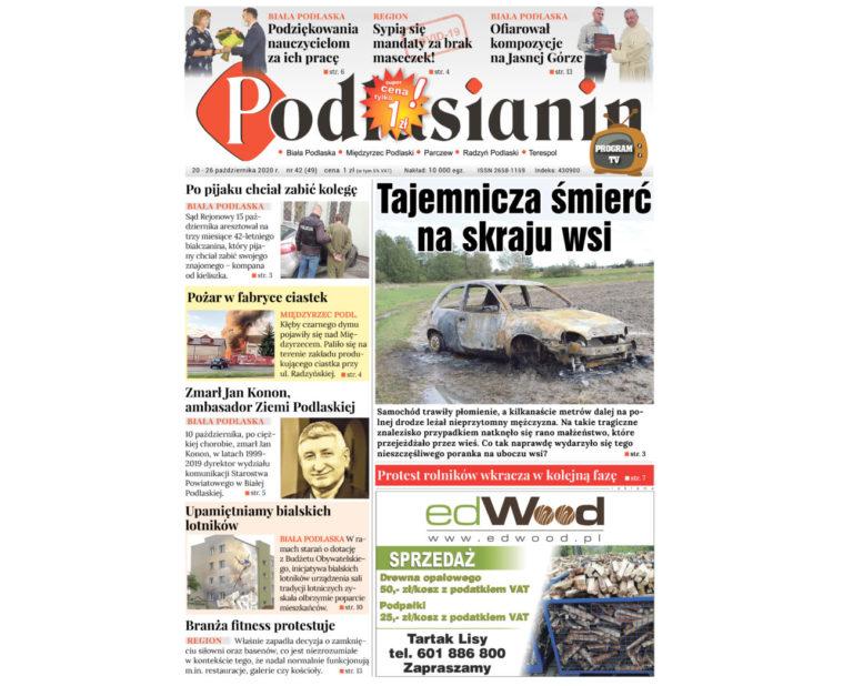 Najnowsze wydanie Podlasianina