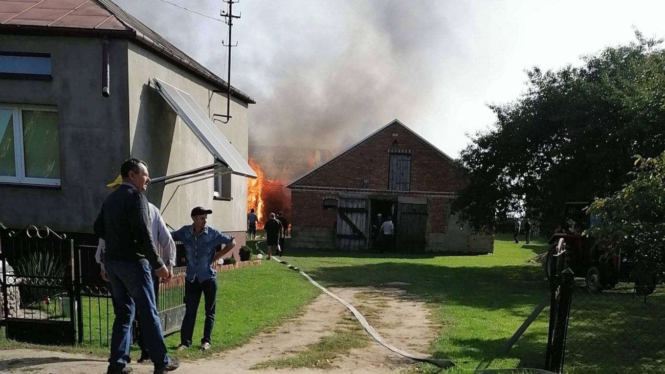 Rodzina potrzebuje pomocy po pożarze
