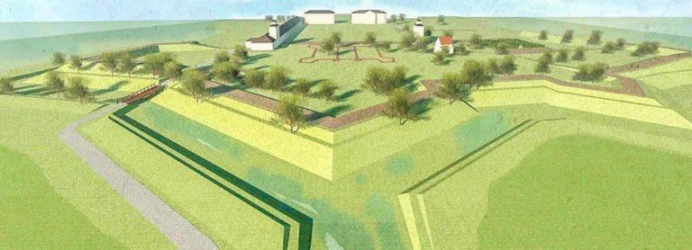W parku Radziwiłłowskim powstaną nowe fortyfikacje
