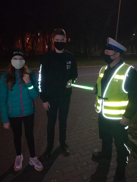 Policjanci w trosce o bezpieczeństwo