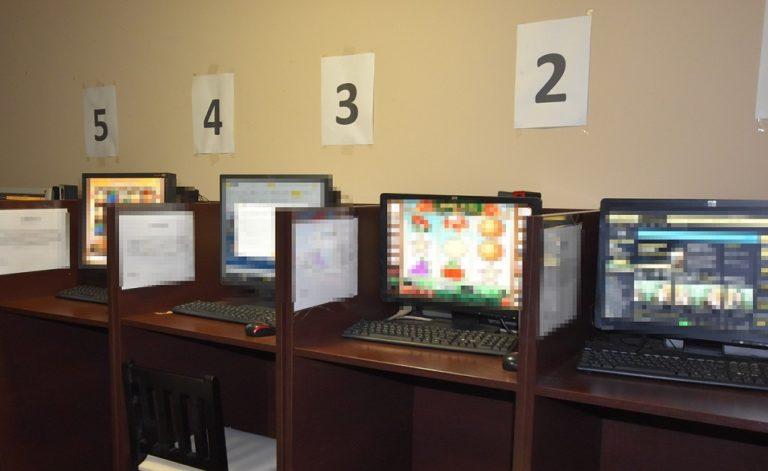 Kafejka internetowa była przykrywką dla hazardu