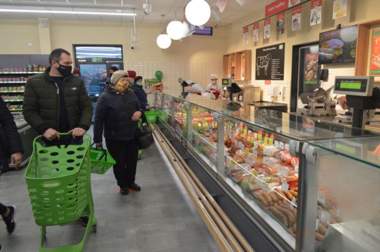 Delikatesy Centrum w Wisznicach już otwarte!