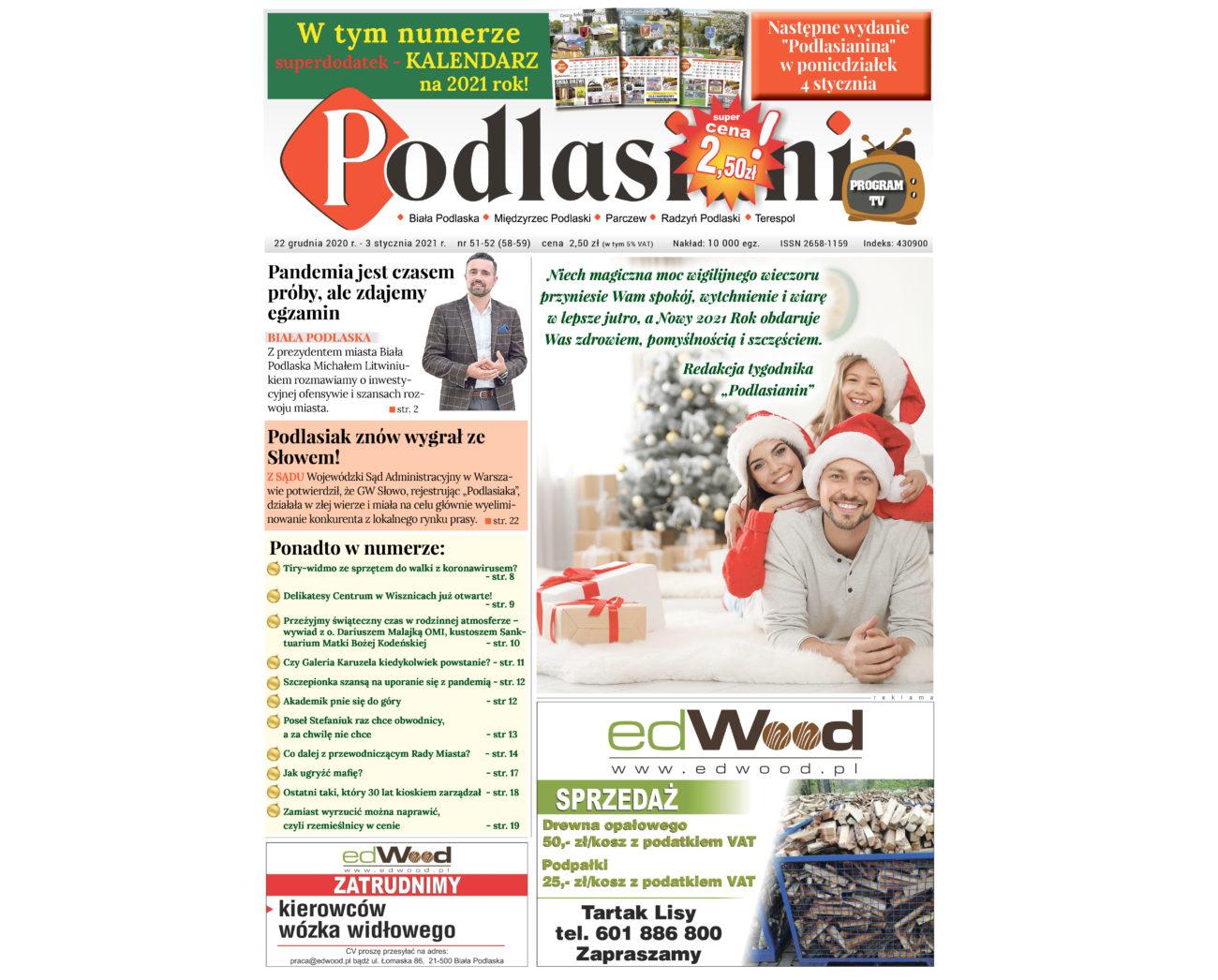 Świąteczne wydanie Podlasianina