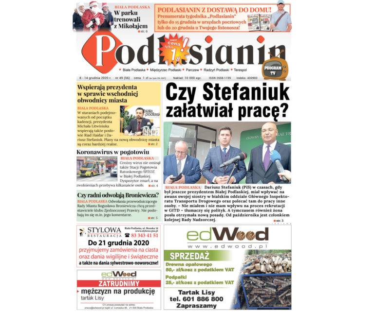 Nowy numer 'Podlasianina'