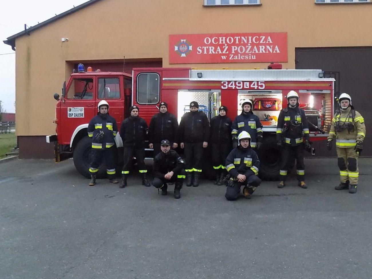 Strażacy z Zalesia są na medal!