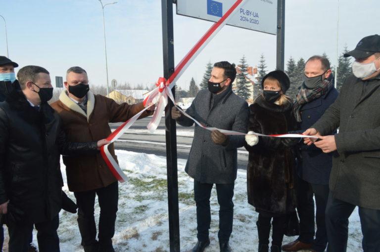Otwarcie rond na ul. Terebelskiej i Al. Solidarności
