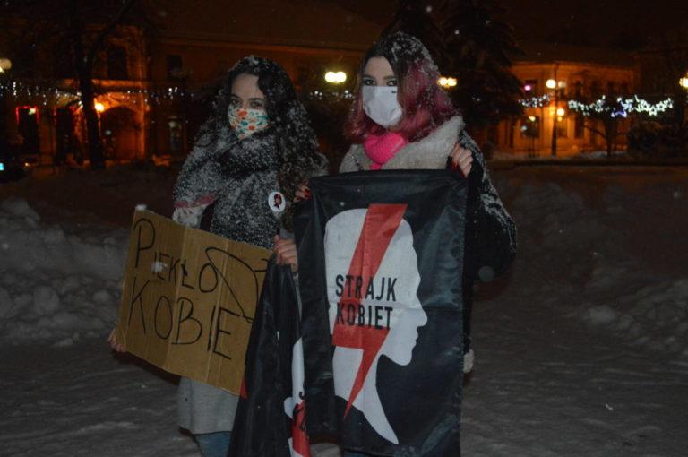 Protest kobiet w Białej Podlaskiej