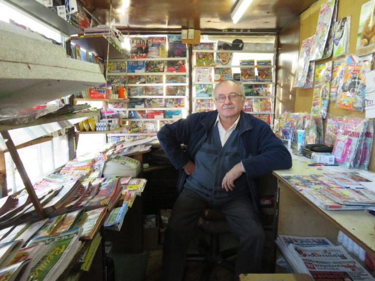 Ostatni taki, który 30 lat kioskiem zarządzał