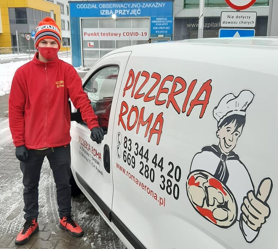 Zamów pizzę, pomóż Ani
