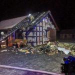 Palił się dom w Kostomłotach