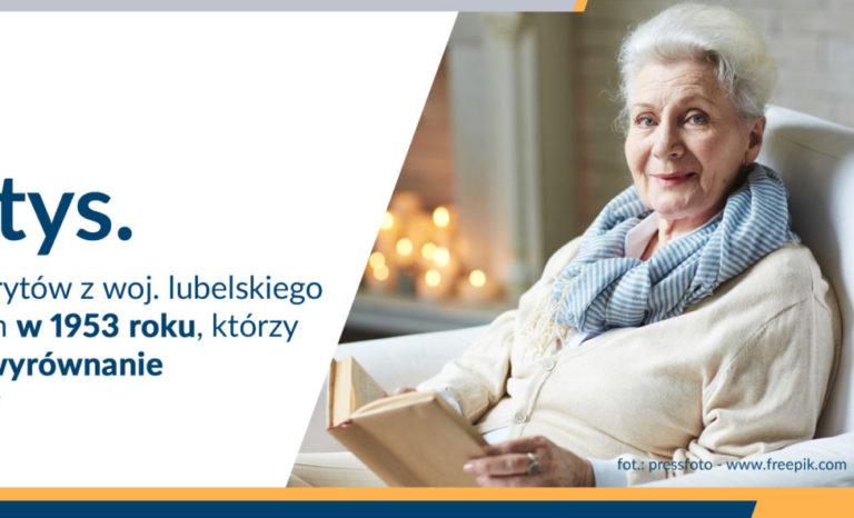 Wyrównania dla emerytów