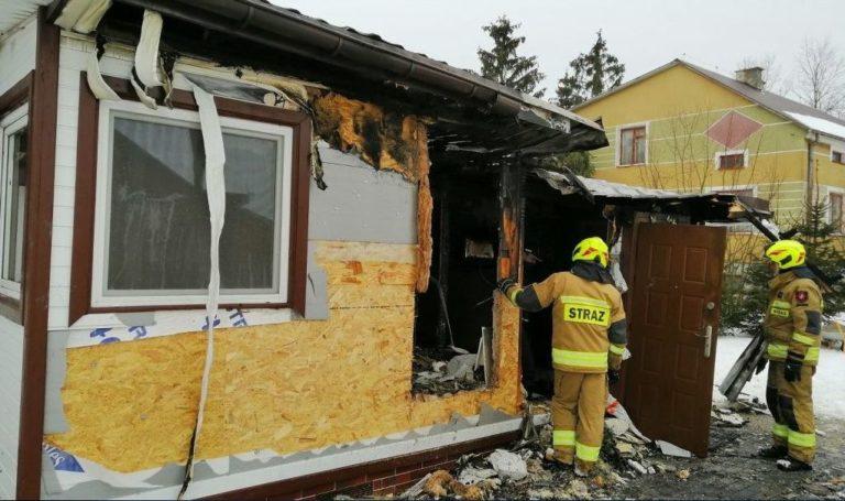Duże straty po pożarze domu