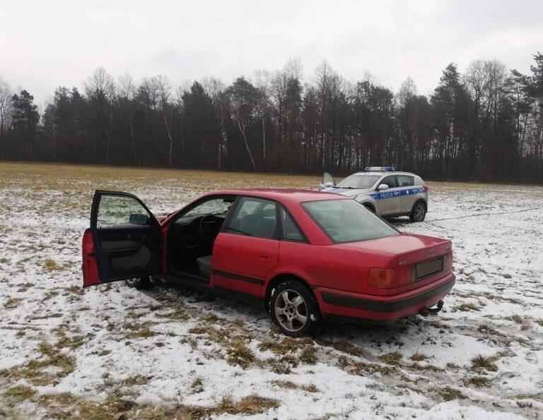 Kierowca uciekał przed policją, bo miał sporo na sumieniu