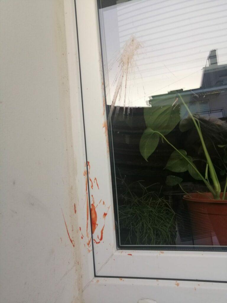 Studenci rzucali w okna jajkami i keczupem? Jest zgłoszenie na policję