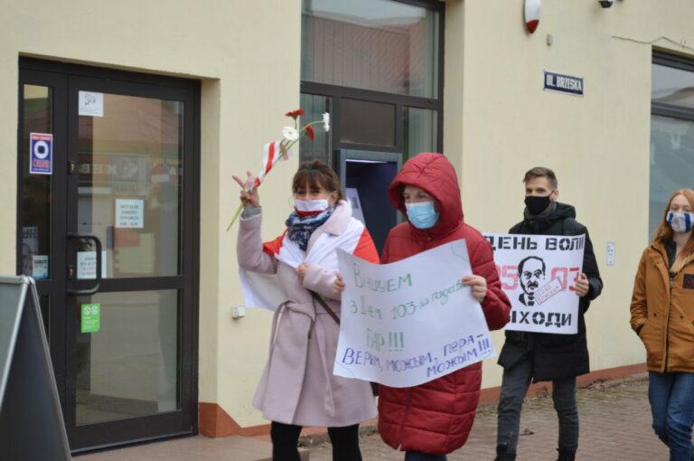 Białorusini przeszli ulicami Białej Podlaskiej