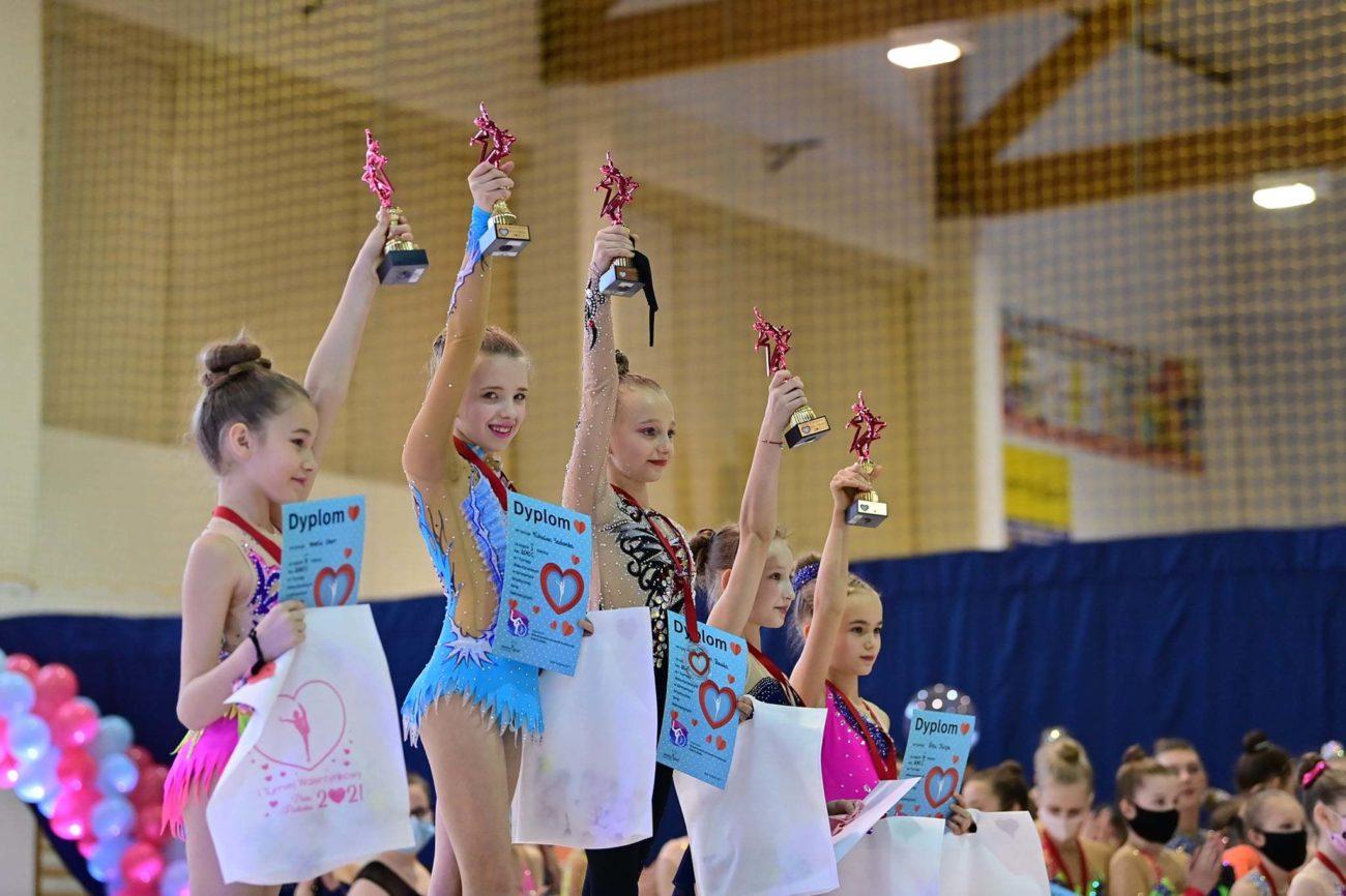 Bialskie gimnastyczki z sukcesami