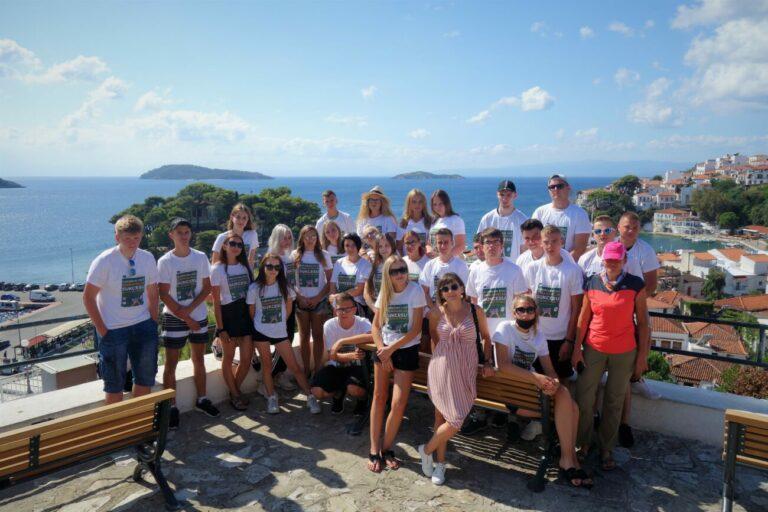 Grecka przygoda młodzieży z Zespołu Szkół w Małaszewiczach