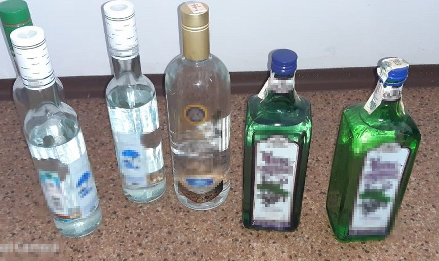 70-latka wyrabiała alkohol na sprzedaż