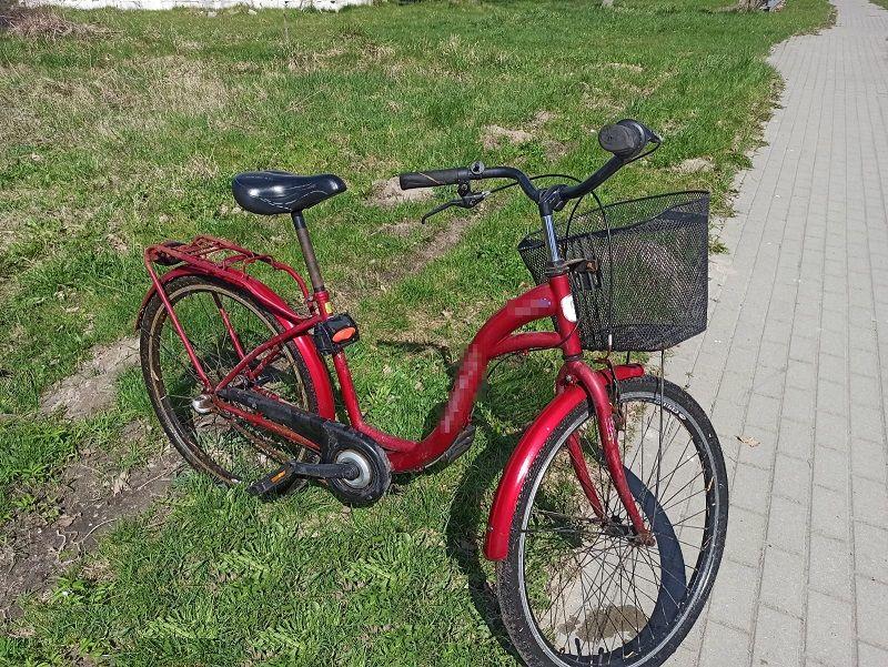 Ukradł rower, bo myślał, że ktoś go porzucił