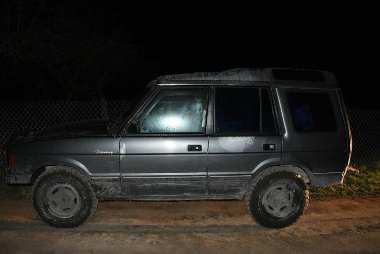 Ukradł auto terenowe, bo...nigdy takim nie jeździł