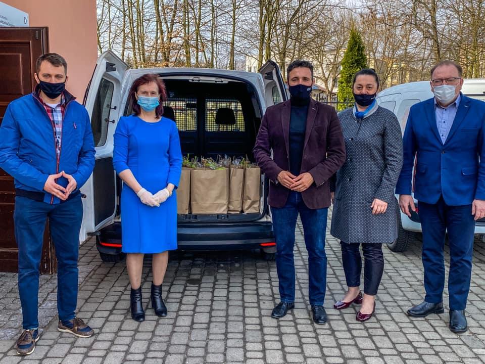 Prezydent Litwiniuk wsparł osoby potrzebujące